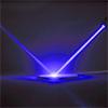 Blue Laser Into Mirror