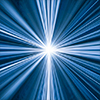 Blue Laser Burst